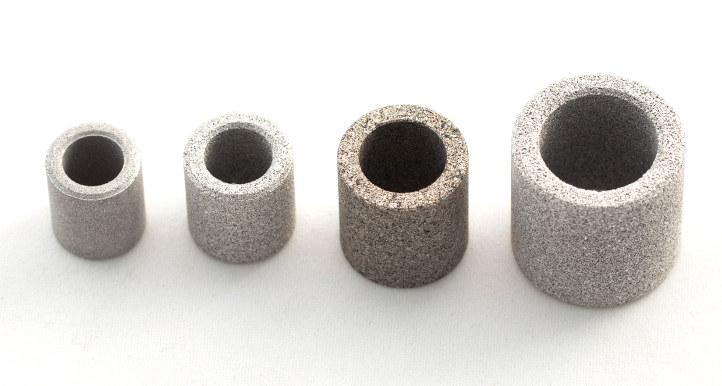 Filtros de acero inoxidable amespore-anillas