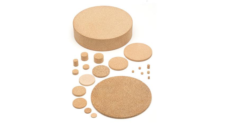 composants poreux en bronze