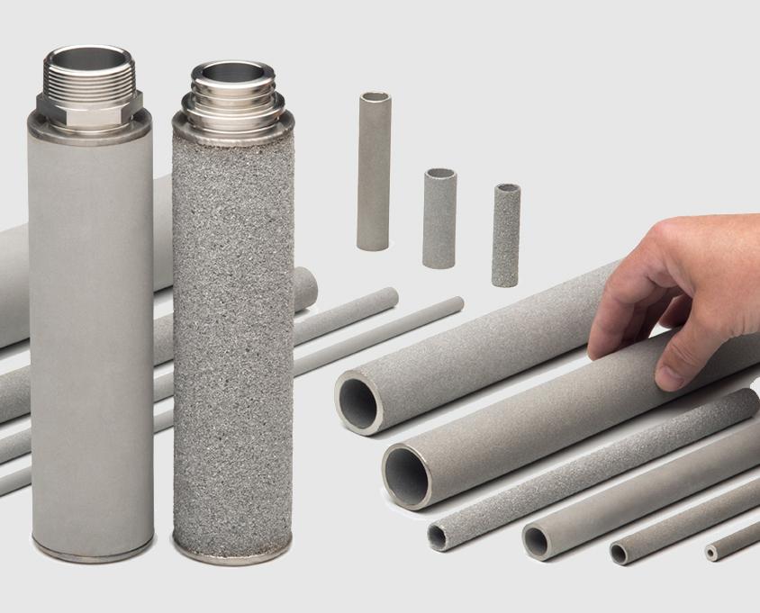 Filtro met lico sinterizado amespore en acero inoxidable - Tubos para chimeneas de acero inoxidable ...