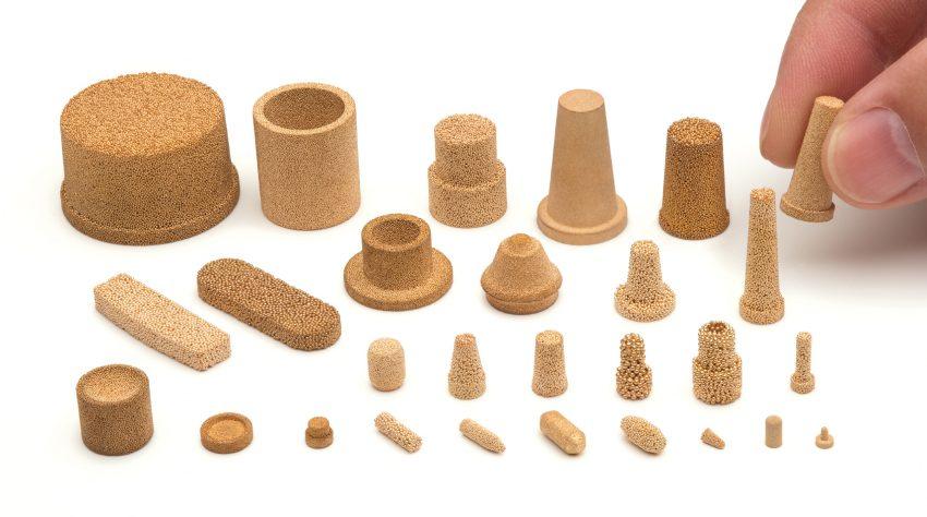 fabbricare filtri e componenti porosi in bronzo amespore