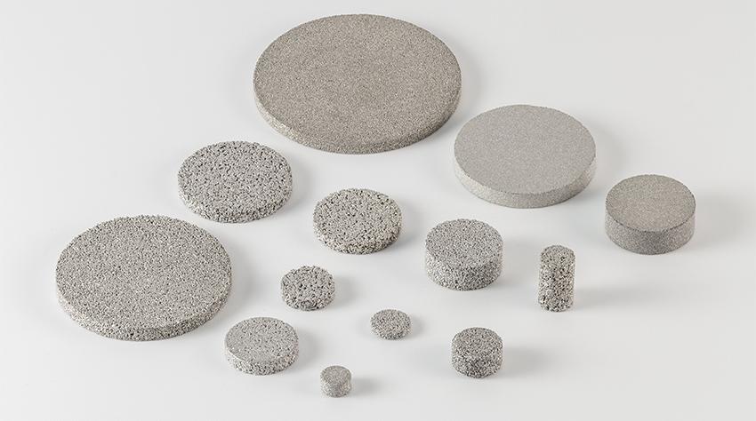 Dischi filtranti Amespore SSU in acciaio inossidabile
