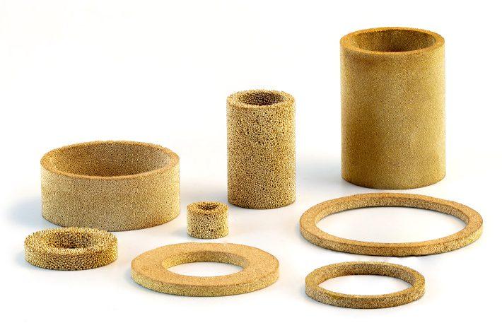 AmesPore® B bronze ring filters