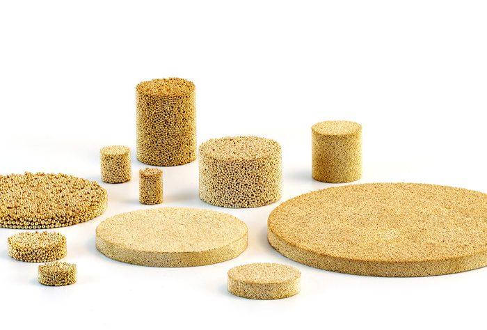 Discos filtrantes de bronce AmesPore® B