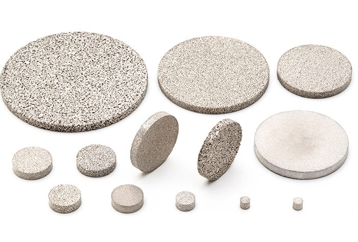 AmesPore® stainless steel discs
