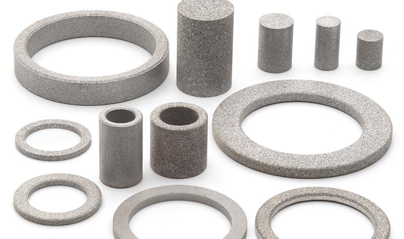 Anillas filtrantes de acero inoxidable AmesPore®